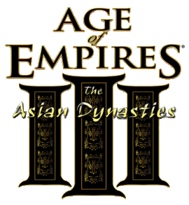 лого Age of Empires 3 The Asian Dynasties
